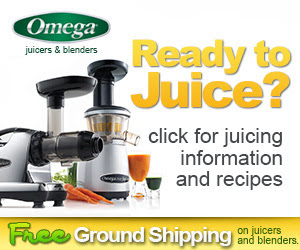 Get your Omega Juicer here!