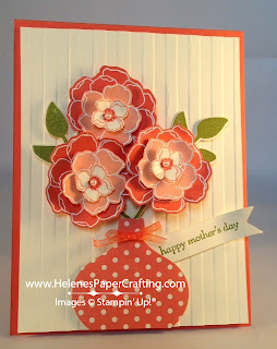 Mother's Day Flowers in vase card