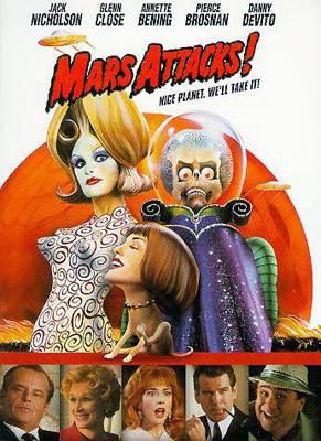 çılgın marslılar-mars attacks filmi afişi posteri