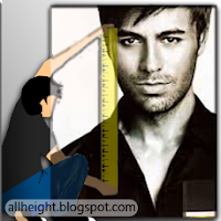 What is the height of Enrique Iglesias?