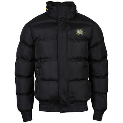 Everlast Mens Puffa Jacket - Black