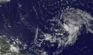Potentieller Tropischer Sturm GORDON, Gordon, aktuell, Vorhersage Forecast Prognose, Hurrikansaison 2012, Atlantische Hurrikansaison, Karibik, August, 2012, Dominikanische Republik, Puerto Rico, Kleine Antillen, Jamaika,