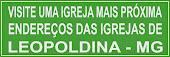 IGREJAS DE LEOPOLDINA