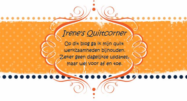 Irene's quilt corner