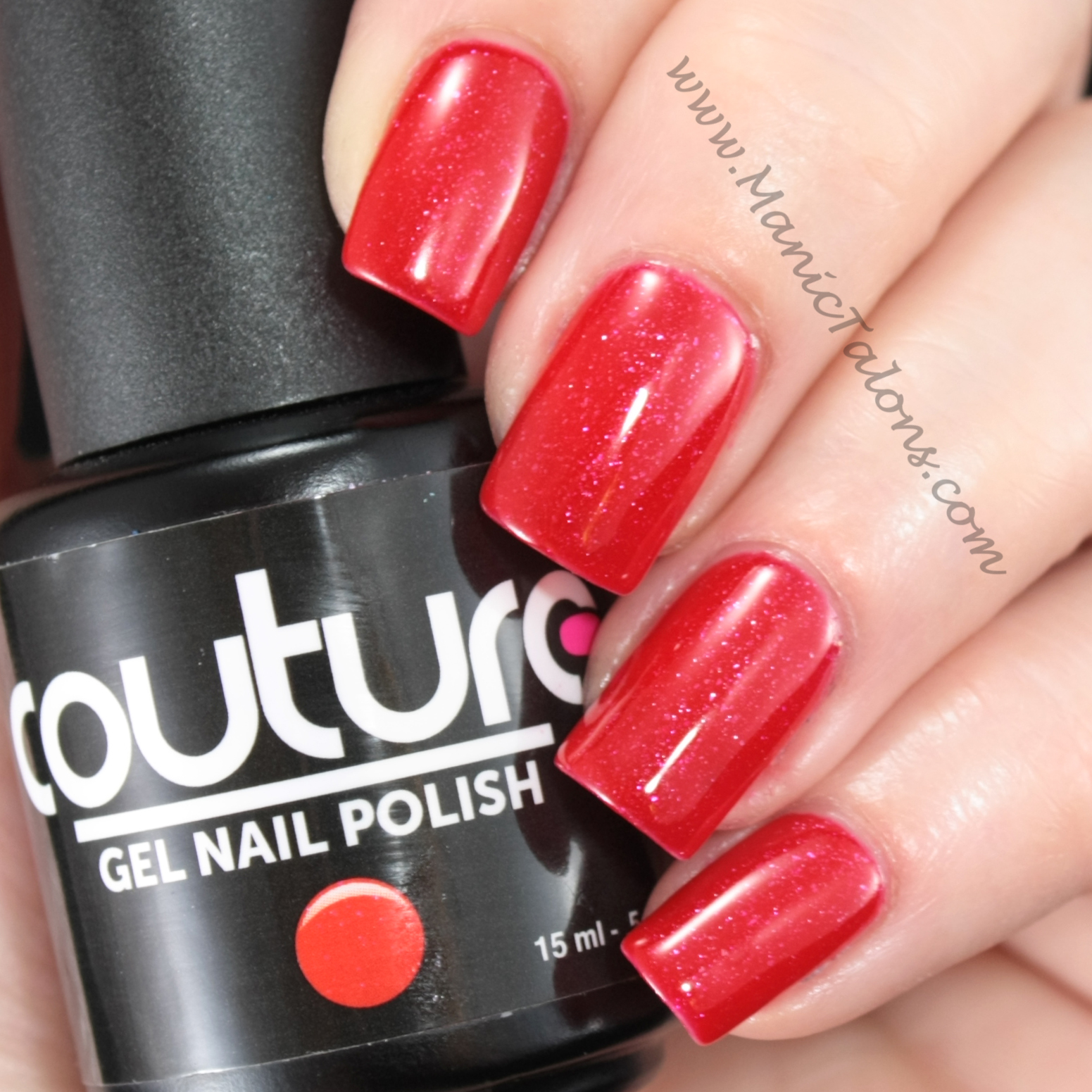 Manic Talons Nail Design: Love Is In The Air With Couture