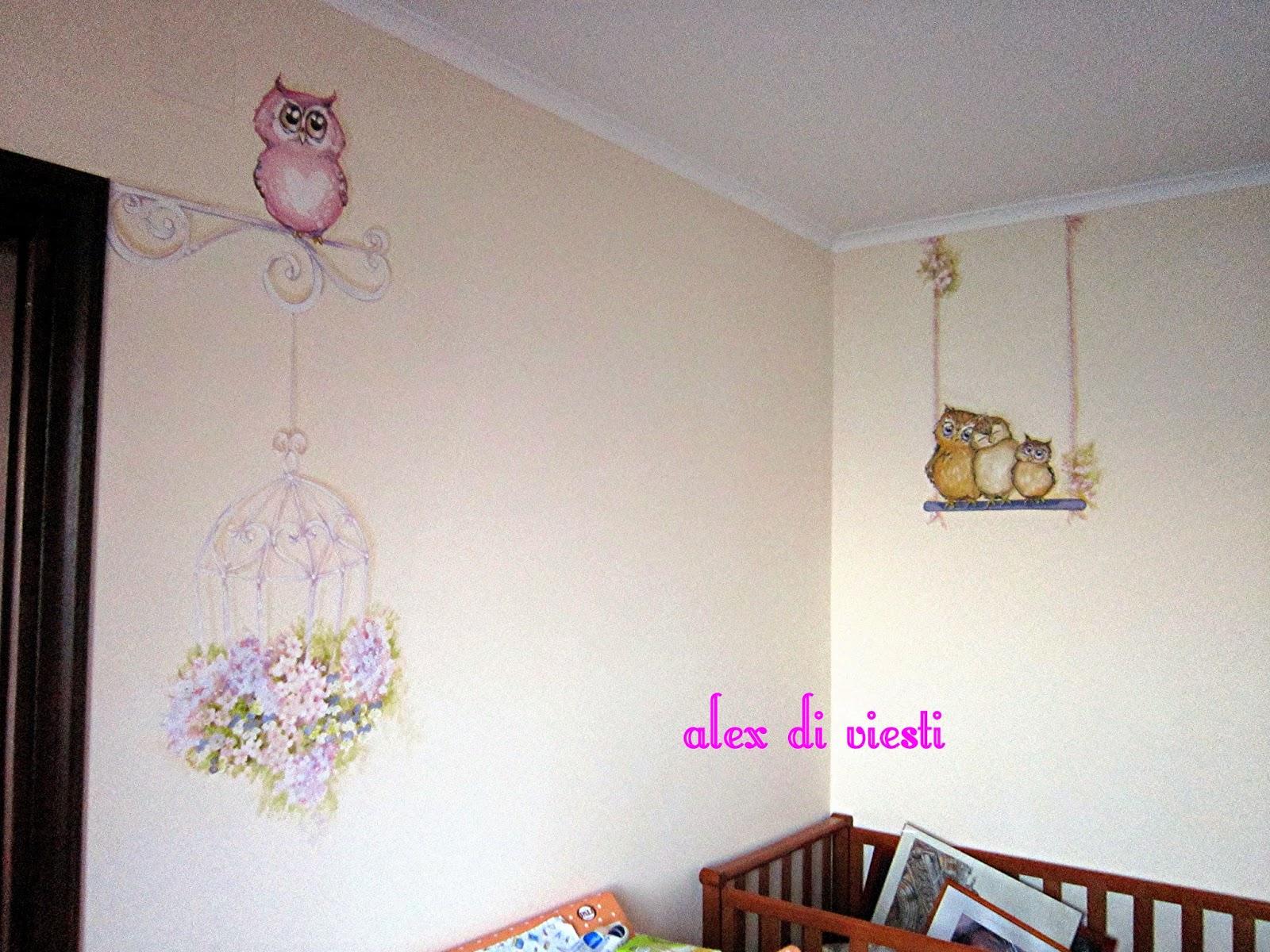 Plafoniera Cameretta Bambino : Camerette dipinte per bambini. latest armadio with