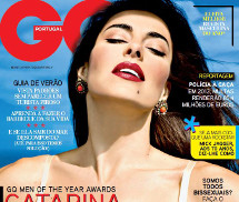 Gatas QB - Catarina Furtado GQ Portugal Julho/Agosto 2013
