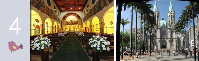 Igrejas para casamento