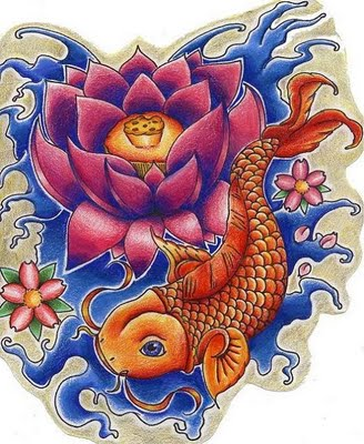 40 Beautiful Koi Fish Tattoo Designs TattooEasily  - carpe koi dragon tatouage