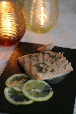 salmone con salsa al limone