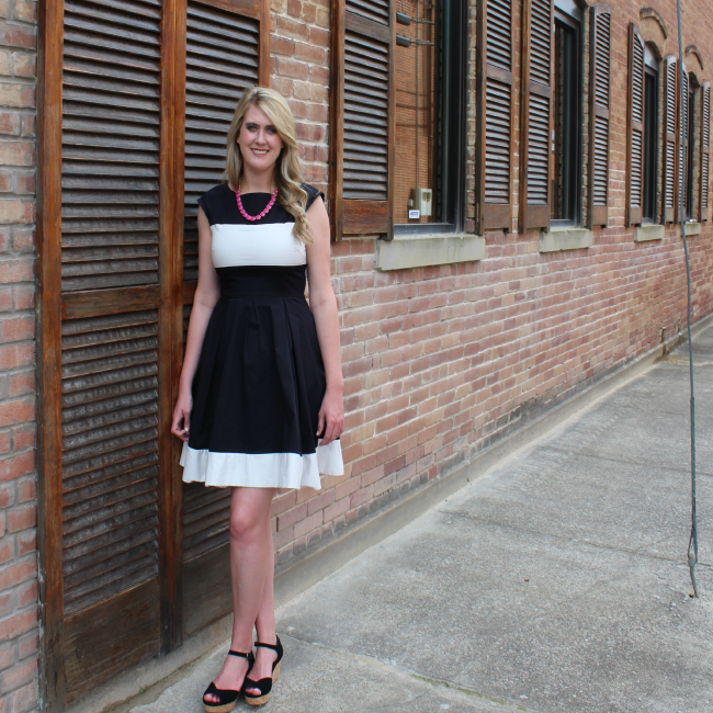 Kate Spade dress for summer wedding