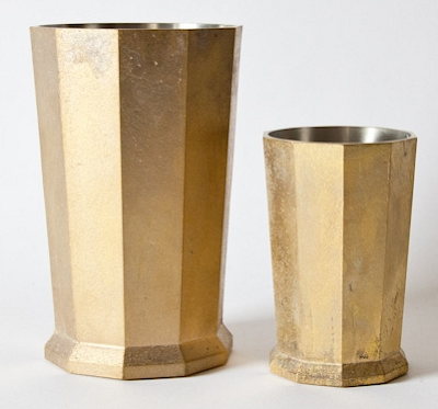 brass kitchen tool holders