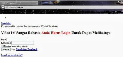 Awas, Jangan Klik Video Mesum Pilot dan Pramugari di Facebook!