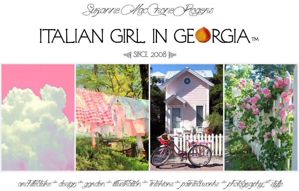 Italian Girl in Georgia