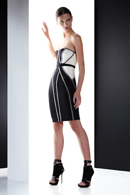 Kleider - Herve Leger Runway von Max Azria - Collection Prefall 2012