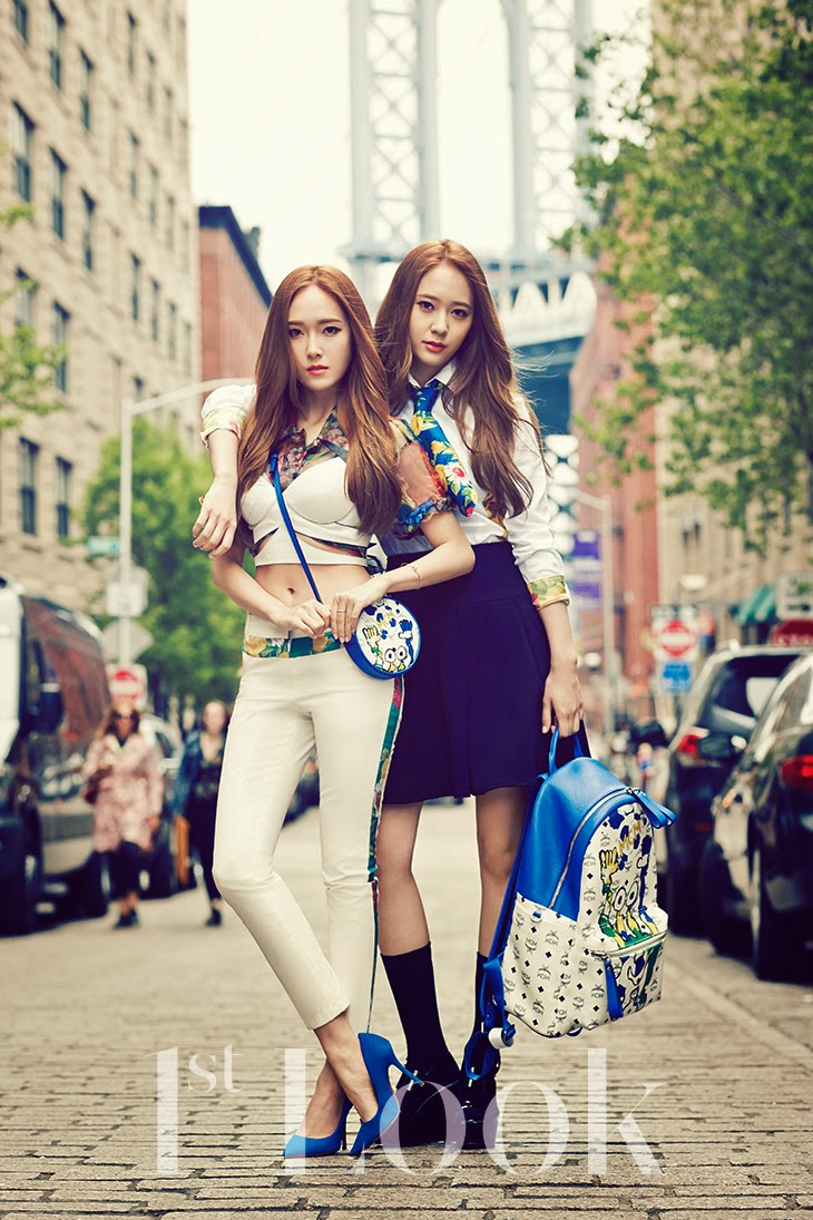 [Official Pictures] 140617 SNSD Jessica and Krystal - 1st ...