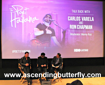 HBO LATINO closes out Hispanic Heritage Month with a Private New York City Preview of the film, The Poet of Havana starring Carlos Varela Produced by Ron Chapman with a talk back moderated by Manny Ruiz