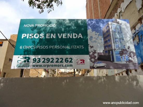 instalación valla de publicidad