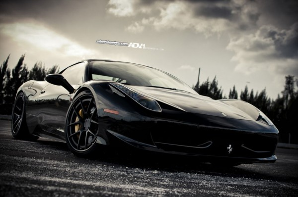Cars and only cars ferrari 458 italia wallpaper black ferrari 458 italia wallpaper black voltagebd Gallery