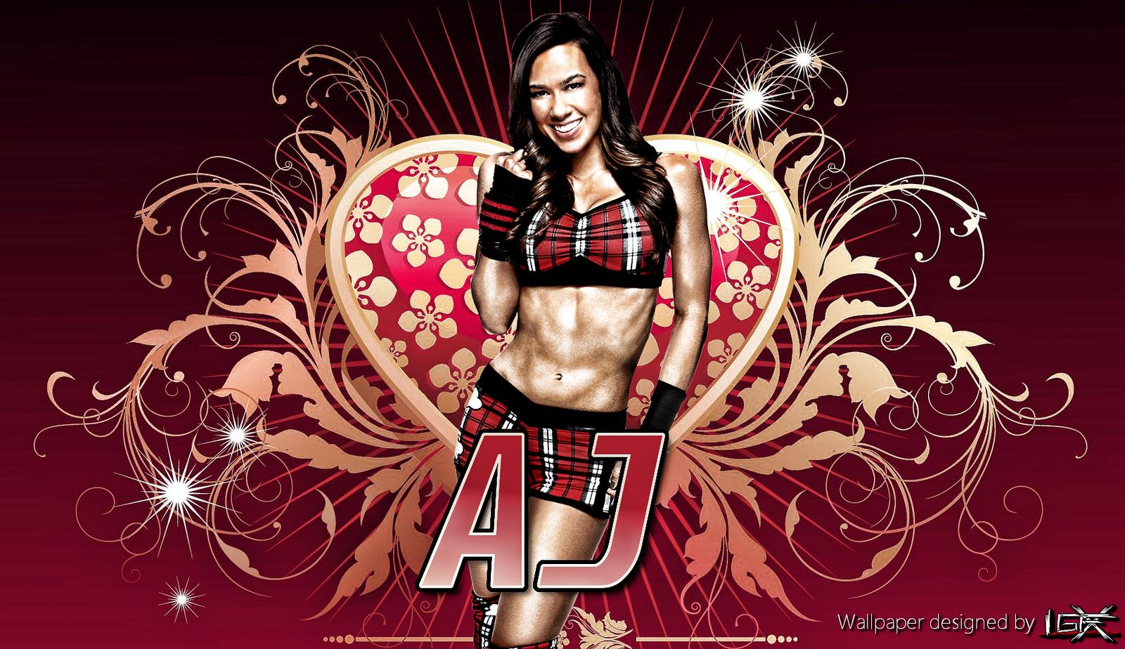 wwe aj lee hd wallpapers 2012 wrestling stars