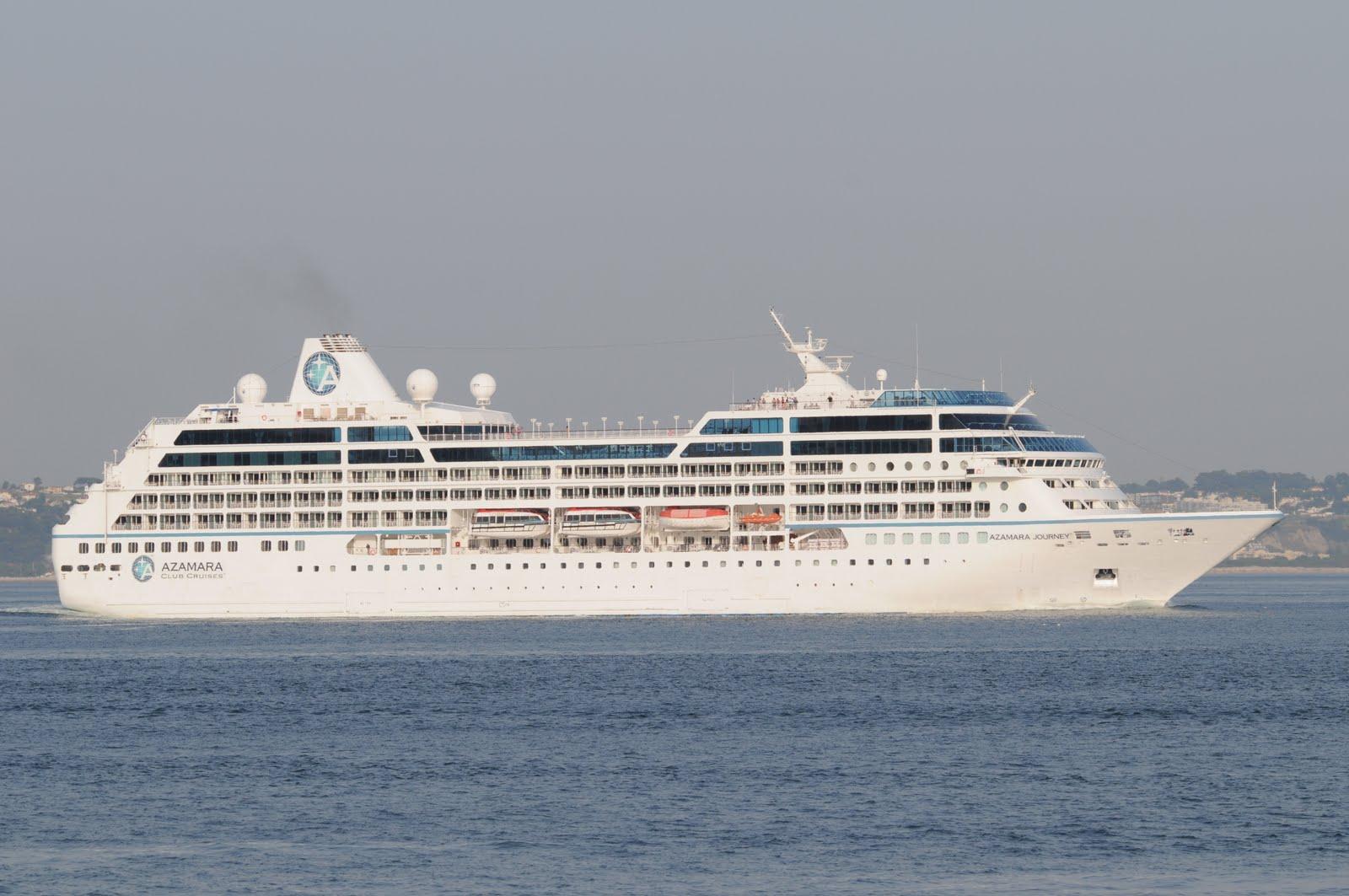 LISBON CRUISE SHIPS AZAMARA JOURNEY