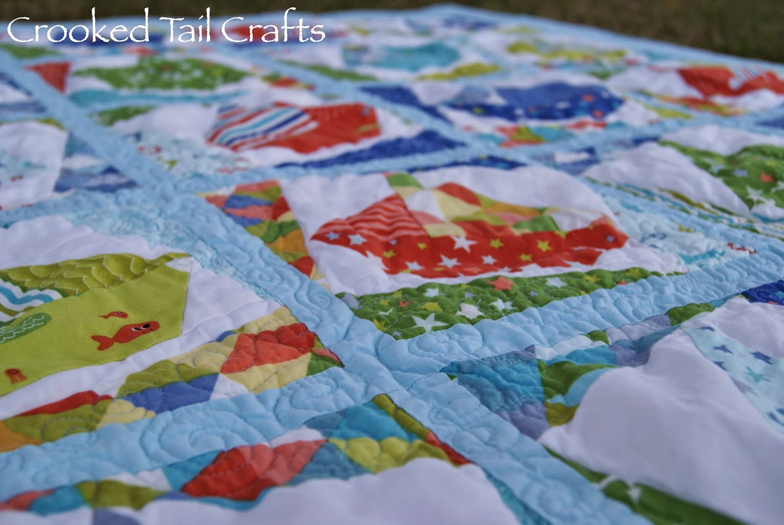 Crooked Tail Crafts Baby Rs Quilt