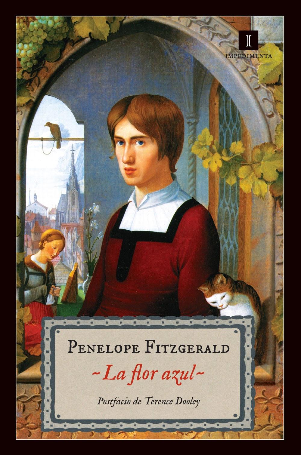 Penelope Fitzgerald, varias obras La+flor+azul