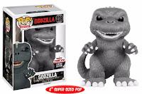 Funko Pop! Godzilla Black & White Toy-Tokyo