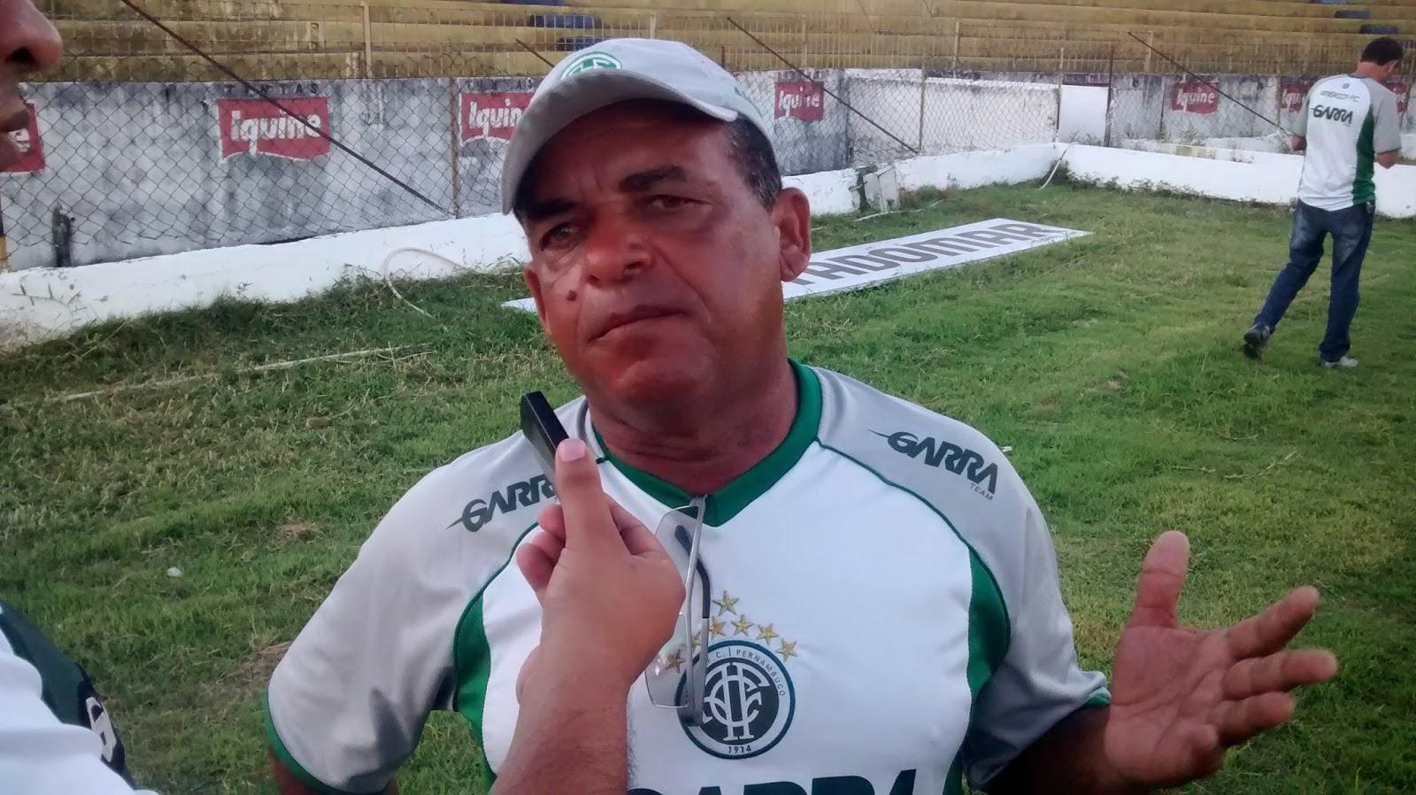 Técnico Valter Mendes feliz com a liderança no PE SUB-20