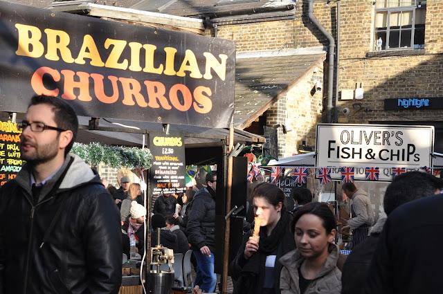 Camden Town Market Brazilian churros