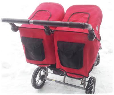 Palett färg barnvagn