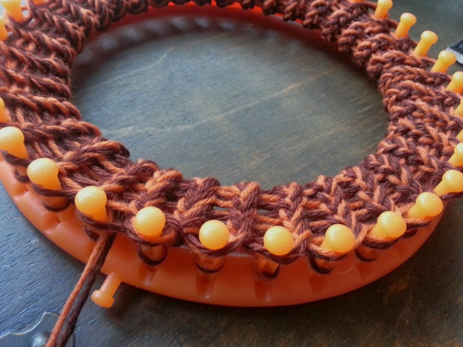 Loom Knitting Knews: Ski Mask Hats