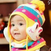 Cute Smile Baby Images With Cap Kids Pictures
