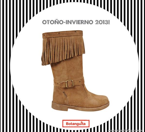 calzado para nenas invierno 2013 botanguita