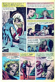 Strange Fantasy v1 #9 golden age horror comic book page art by Steve Ditko