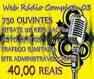 TENHA A SUA WEB RADIO