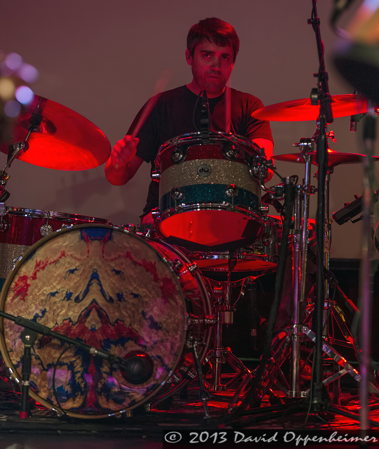 Greg Schutte with The Mickey Hart Band
