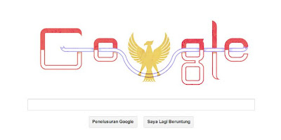 Burung di Google Doodle 17 Agustus Bukan Garuda?