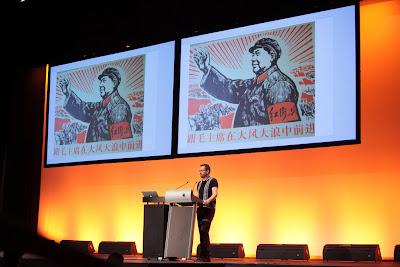 Photo: John on stage