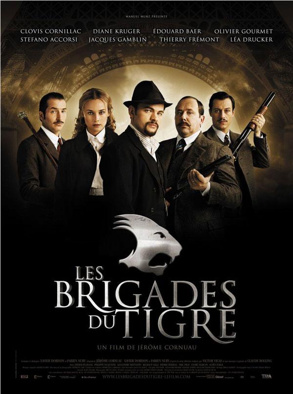 Les Brigades du Tigre affiche
