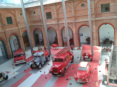 Biblioteca museo del fuego Zaragoza