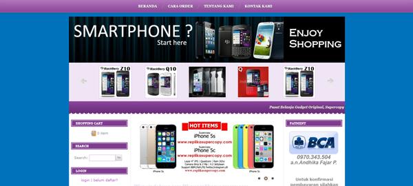 Indobuye.com Toko Smartphone BM Terpercaya