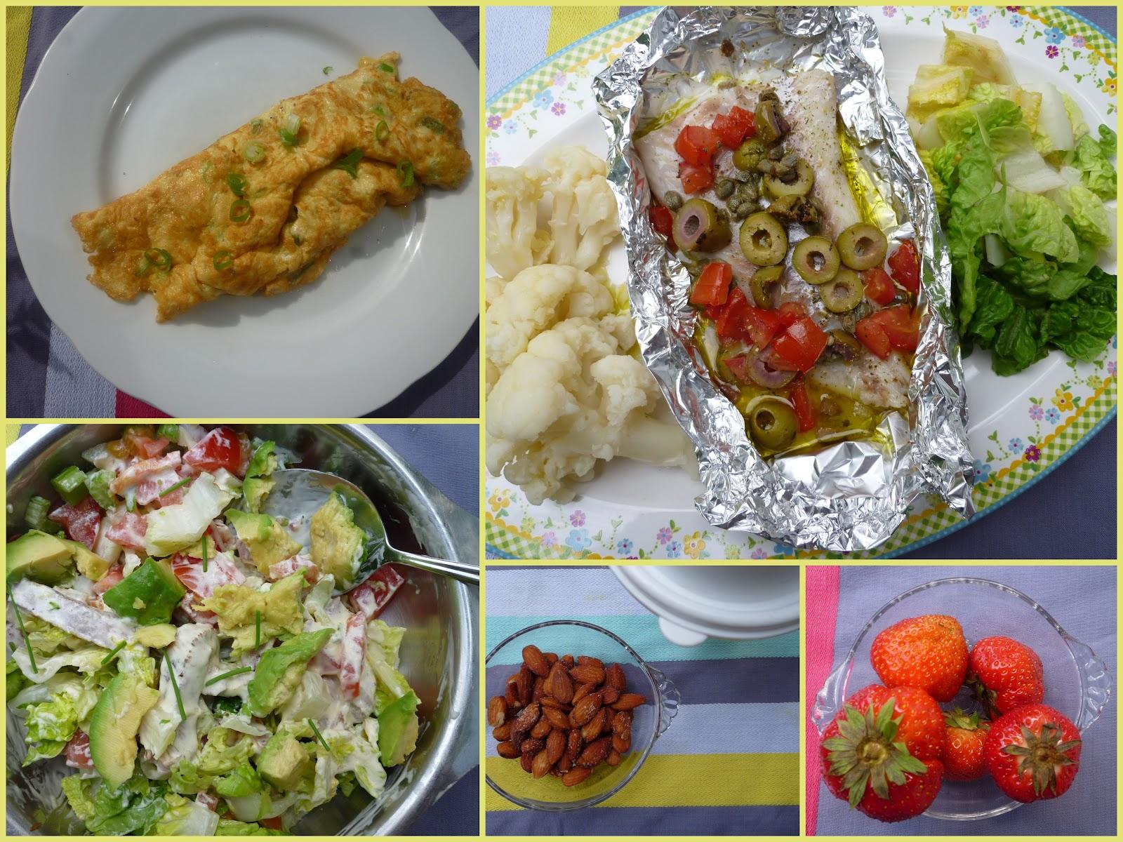 dieet gerechten met vis