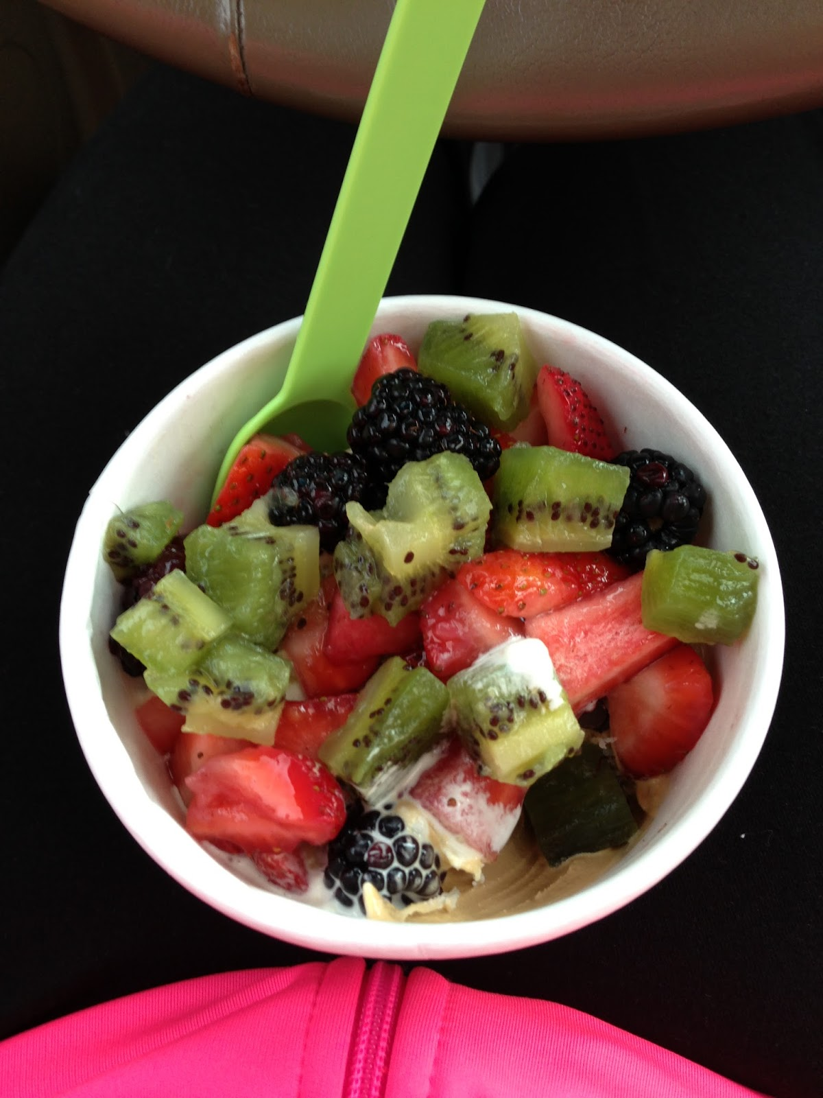 Lindsay is a lifetime member i love frozen yogurt - Refreshing dishes yogurt try summer ...