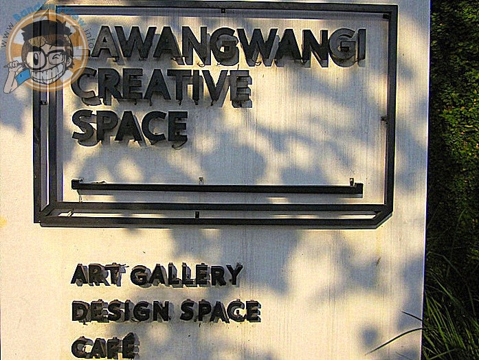 Lawangwangi creative space, art galerry-design space-cafe