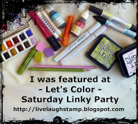 Let's Color- Saturday Linky Party
