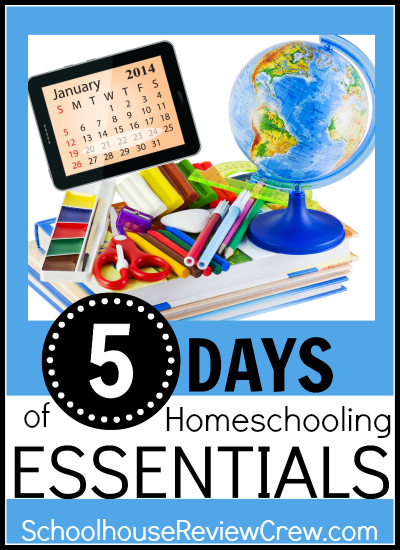http://schoolhousereviewcrew.com/5-days-of-homeschooling-essentials-blog-hop/
