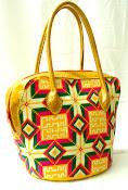 Bolso Wayuu con cuero
