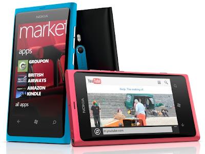 Harga Ponsel Nokia Mei 2012