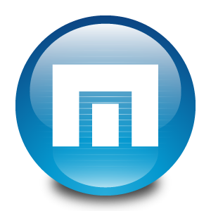 Maxthon Browser Blue Logo
